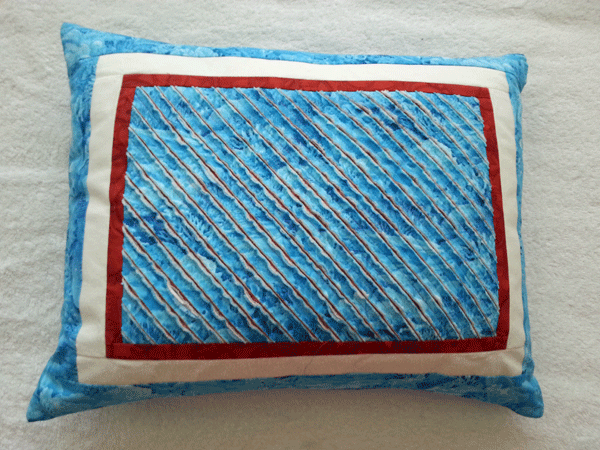 Coussin chenille face 1